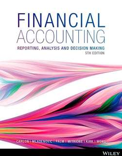 RMIT Financial Accounting and Analysis Textbook PDF
