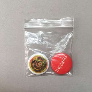 THE CRIBS Badges