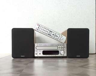 Denon RCD-M33 CD Amp & Speakers set