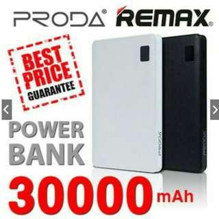 *FREE MAILING*INSTOCKS*Remax Proda 30000mAh 4 port powerbank