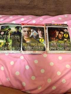 Supernatural season 1 to 3