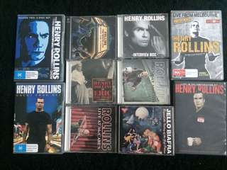 Henry rollins + jello biafra spoken words cd dvd