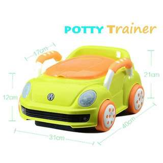 Kid luxury car potty training