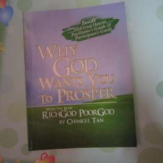 Rich God, Poor God by Chinkee Tan (with autoraph)
