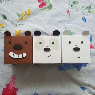 We Bare bears explosion boxes