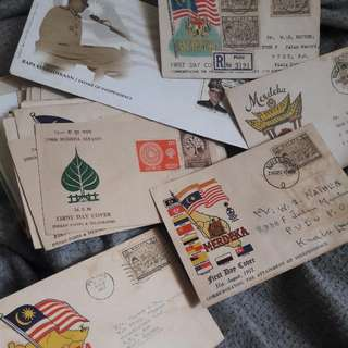 Malaya First Day Covers ( 1957 - 1959 )