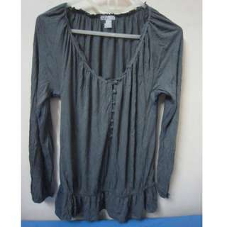 Old Navy cotton long sleeves top