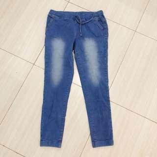 Celana jogger jeans / jogger jeans