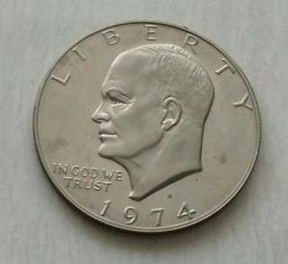 USA 1974S 1 Dollar Unc Coin