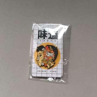 SACHIN TENG Taste Bitter Boy Pin