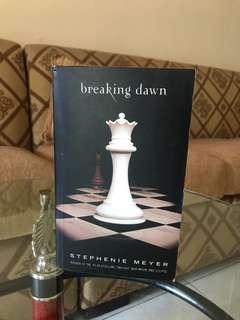 Novel Breaking Dawn / English