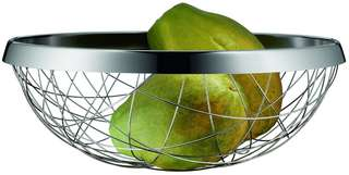 """💯 Authentic WMF Stainless LIVING LOUNGE Chaos FRUIT & VEGETABLE Basket, 11-3/4"""""""