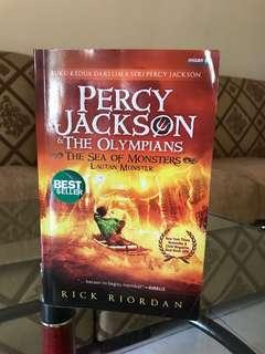 Novel Percy Jacksons The Olympians / bahasa Indonesia