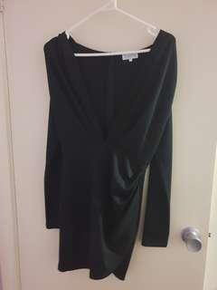 Black luella dress sz small