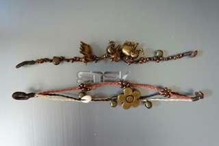 Bracelets dari Thailand. 50k include dua item.