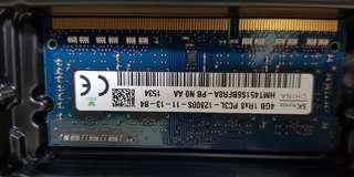 SODIMM DDR3 RAM 4gb