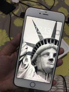 Iphone 6s+ 128GB Rosegold