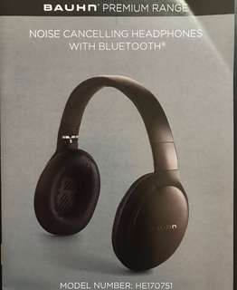 Headphones Bluetooth with Noise Cancelling