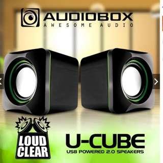 *FREE MAILING*INSTOCKS*Audiobox U-CUBE Mini Speaker