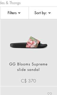 Looking for these Gucci slides size 4.5 !!!!
