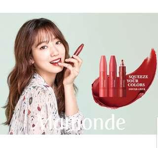 New! Mamonde Creamy Tint Squeeze Lip ( Authentic)