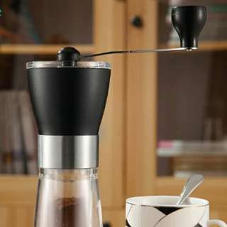 Portable Manual Coffee Grinder For Home Office Travelling Washable Coffee Mill Easy Cleaning