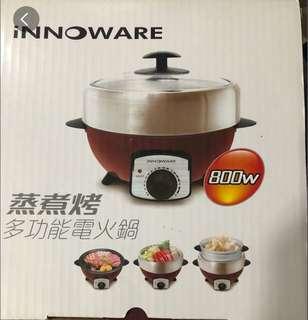 全新Innoware 蒸煮烤多功能電火爐