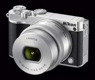 NIKON MIRRORLESS J5 KIT 10-30MM VR SILVER