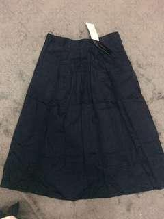 the executive midi skirt