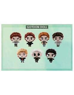 PRE-ORDER _ OFFICAL GOT7 GOTOON DOLL(Never Ever)
