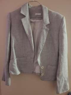 Wayne Cooper Suit Jacket sz 1 Grey