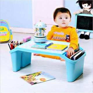 Multifuntion Study, Computer ,Toy Toddler Table Small Desk wth Storage