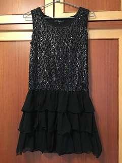 甜美時尚亮片洋裝