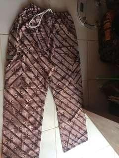 Celana batik jogja