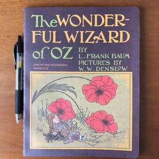 Wizard of Oz notebook