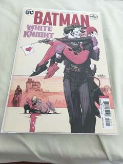 Batman white knight 8 Variant