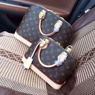 LV ALMA in Monogram BB and PM
