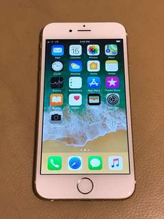iPhone 6 64G Gold 99%New