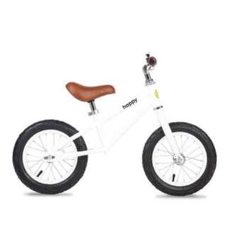Bailey Happy Bikes 12 Inch Balance Bike (White)