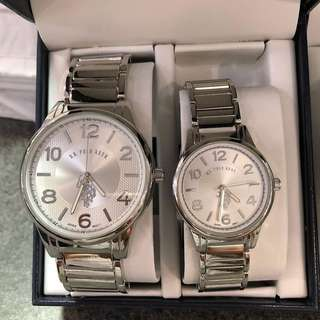 US POLO ASSN COUPLE WATCH