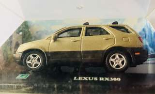 Scaled Lexus model