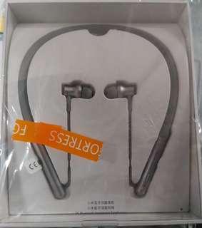 全新小米藍芽項圈耳機【原價369】