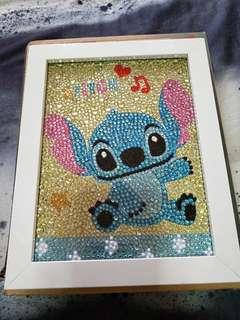 🚚 Stitch diamond with frame