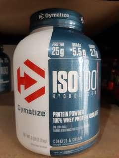 ISO 100 DYMATIZE WHEY PROTEIN ISOLATE HYDROLYZED 5LB