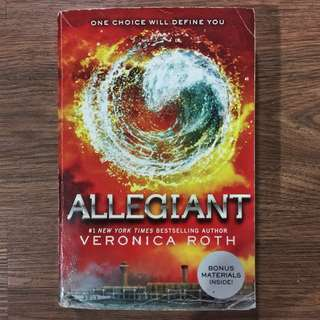 books | Allegiant by Veronica Roth
