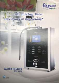 ESN Biontech Water purifier and ionizer