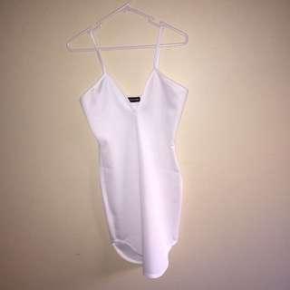 PLT White Mini Dress