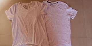 Giordano White T Shirt