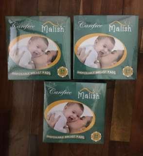 Breast pad breast pads Malish breast pads 24 pc ( bundle set of 2 box 48 pcs)