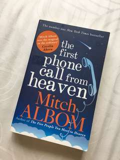 [Mitch Albom] The first phone call from heaven (inc postage)